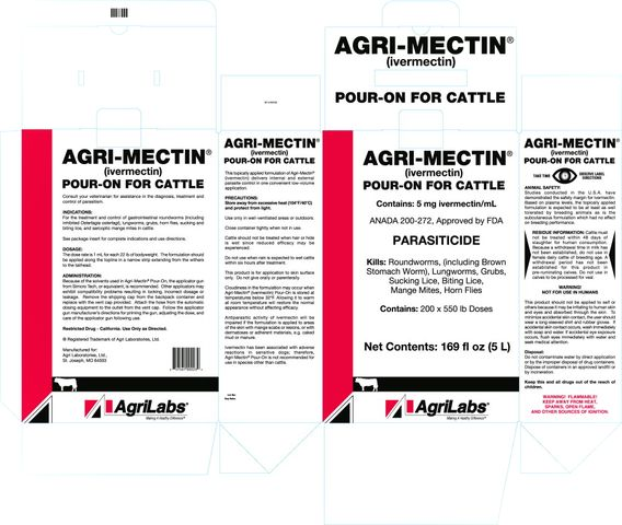 AGRI-MECTIN  ®  (ivermectin)POUR-ON FOR CATTLE