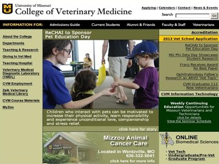 University of Missouri - College of Veterinary Medicine