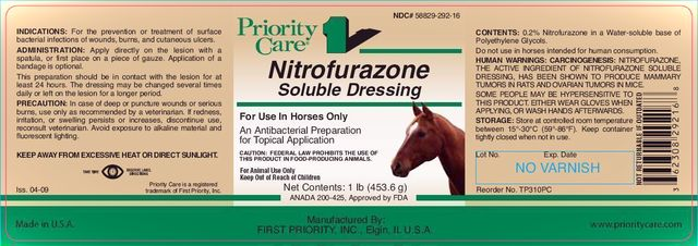 NITROFURAZONE SOLUBLE DRESSING